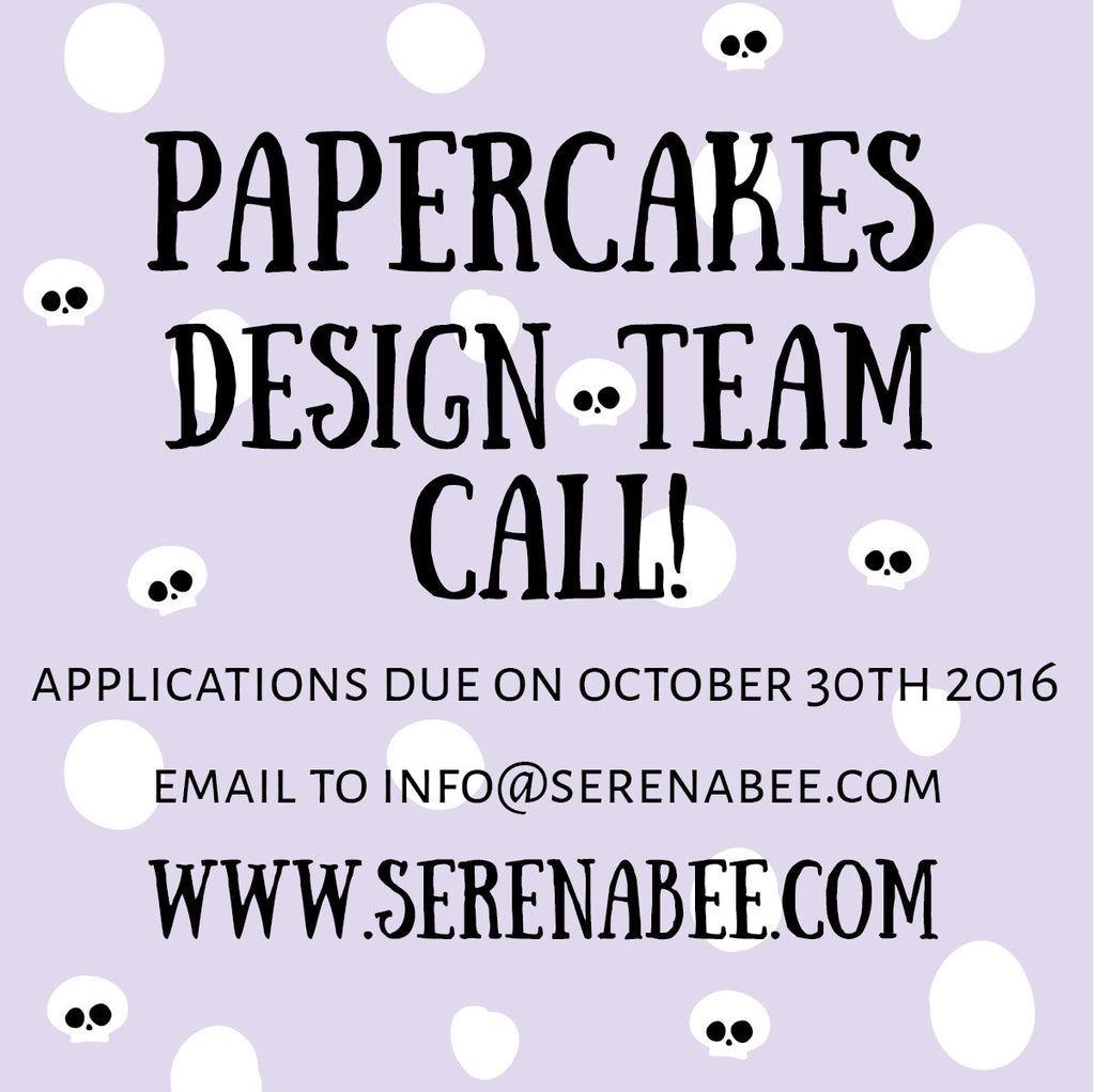 PAPERCAKES DESIGN TEAM CALL