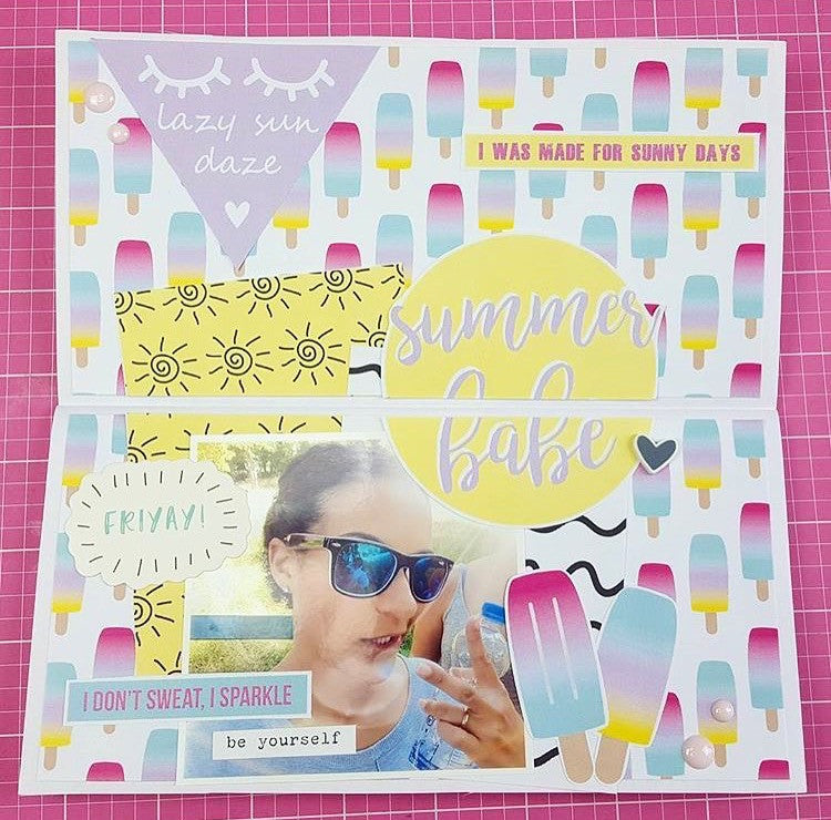 Traveler's Notebook Creative Journaling with New Summer Babe Collection!