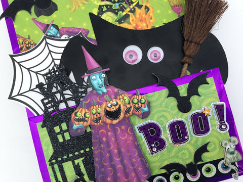 JUMBO Halloween Loaded Flip Bag | Halloween Happy Mail Series