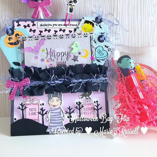 Spooky Pastel Bag Flip by Maria R