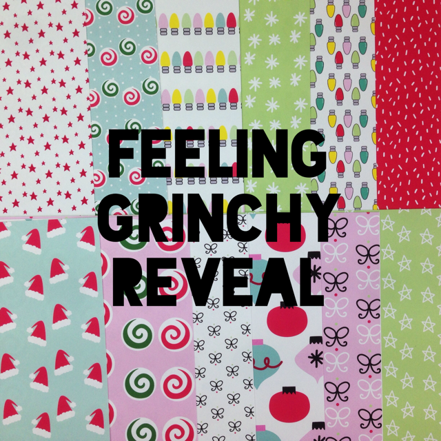 REVEAL WEEK DAY 3- FEELING GRINCHY COLLECTION