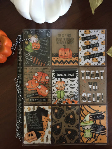 October Pocket Letter Ft. Vera Lane Studio By Annie