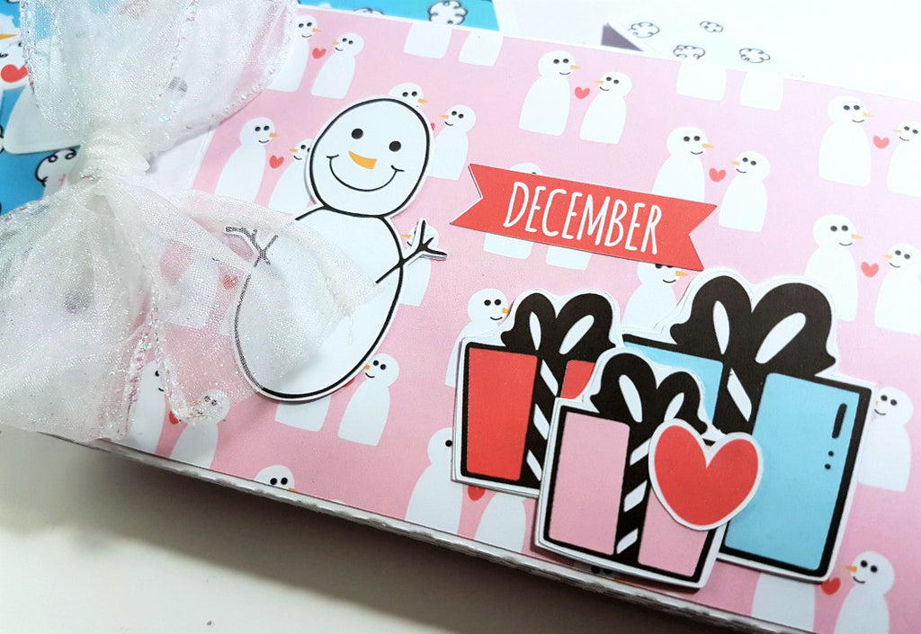 Snow Day Mini Album in a Box By Rachel