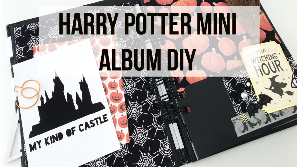 Harry Potter Pocket Album Tutorial