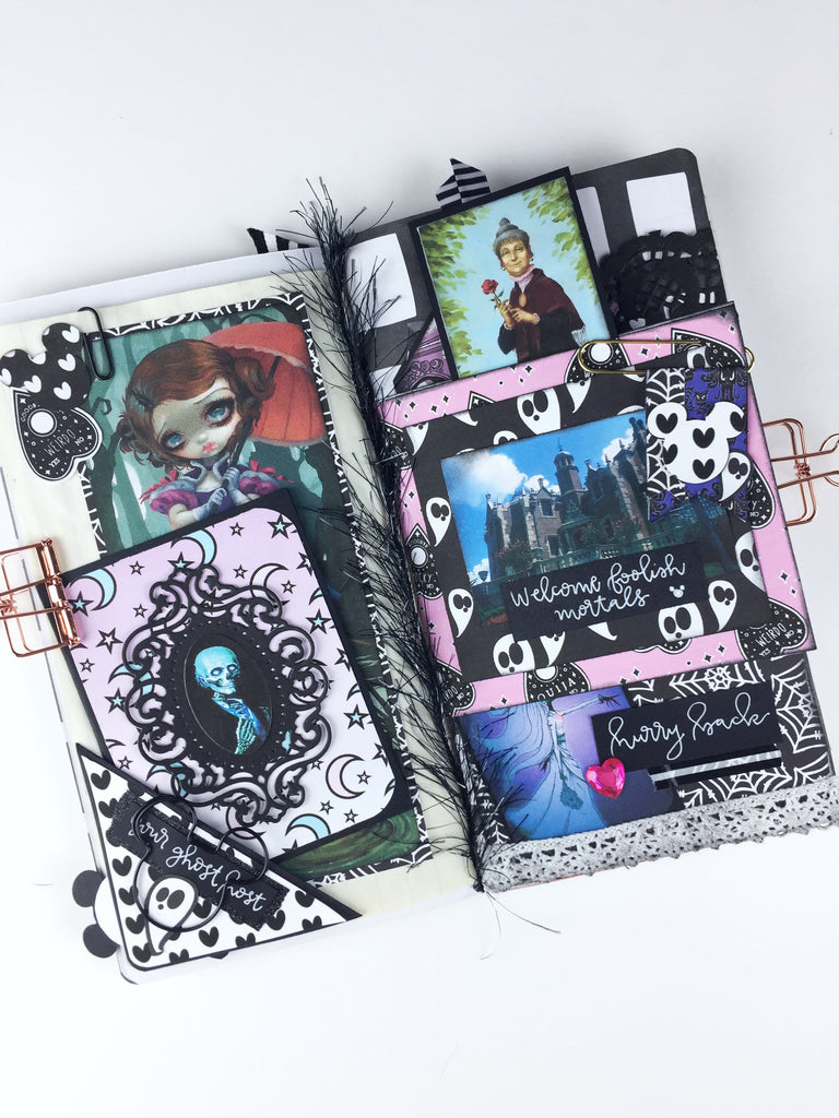 Disney Inspired Junk Journal By Annie
