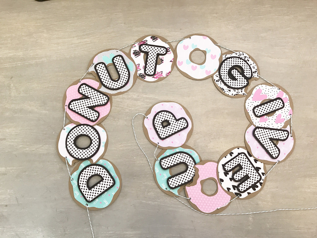 Donut Give Up Banner By Amador