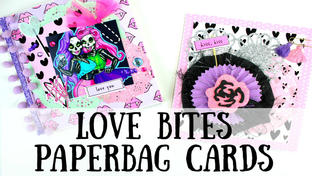 Love Bites Paperbag Cards By Serena Bee