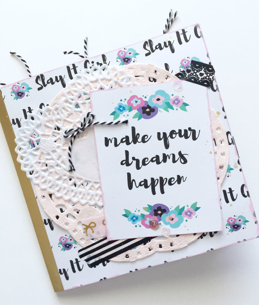 Papercakes Youtube Hop | Slay It Girl Flipbook By Annie