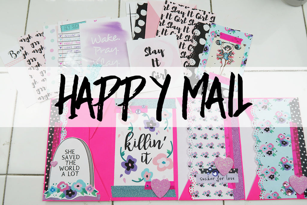 Envelope Flipbook & Traveler's Notebook | Happy Mail By Taylor