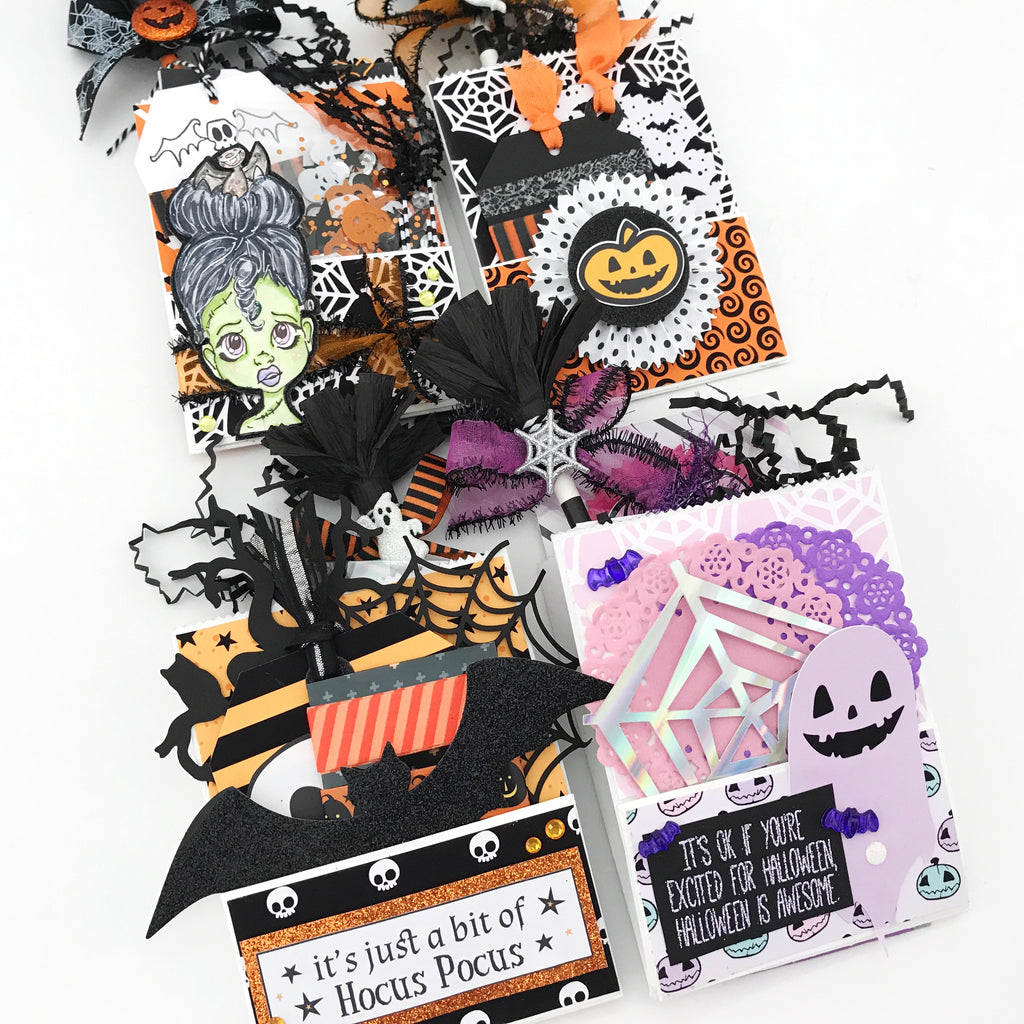 Mini Bag Flips/Loaded Envelopes | Halloween Happy Mail Series