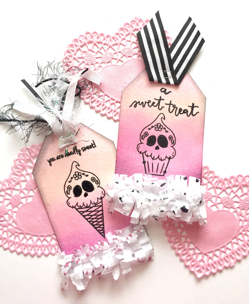 Deadly Desserts Oversized Tags By Annie