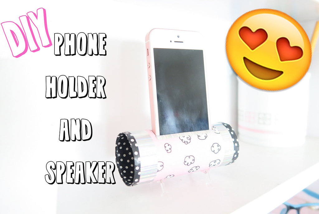 DIY Phone Speaker and Holder by Taylor