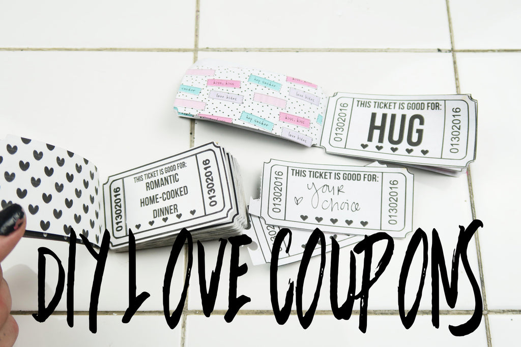 DIY Valentine's Love Coupons By Taylor
