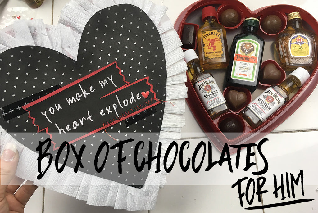 Valentine's Day Box of Chocolates for Him By Taylor