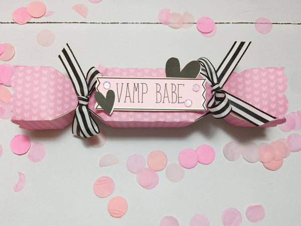 Candy Favor Boxes by Sabrina Ann. Papercakes design team. www.serenabee.com