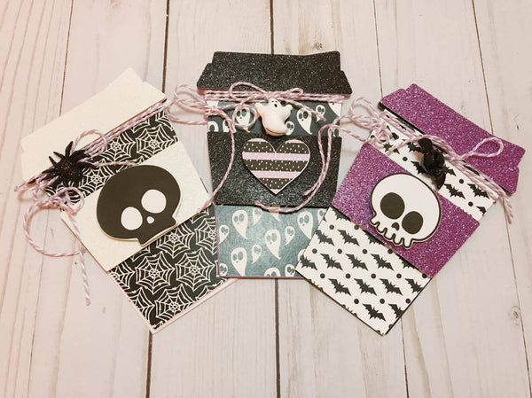 Spooky Coffee Cup Notebooks By Sabrina Ann. Papercakes design team. www.serenabee.com