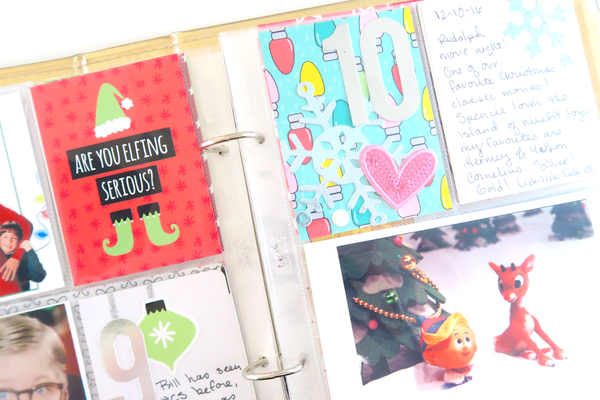 December Daily Pages by Dani. Papercakes design team