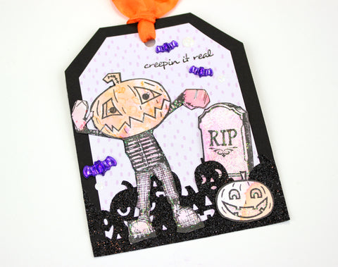 halloween tag. Papercakes By Serena Bee