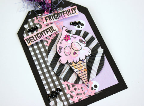 deadly desserts halloween tag. Papercakes by Serena Bee