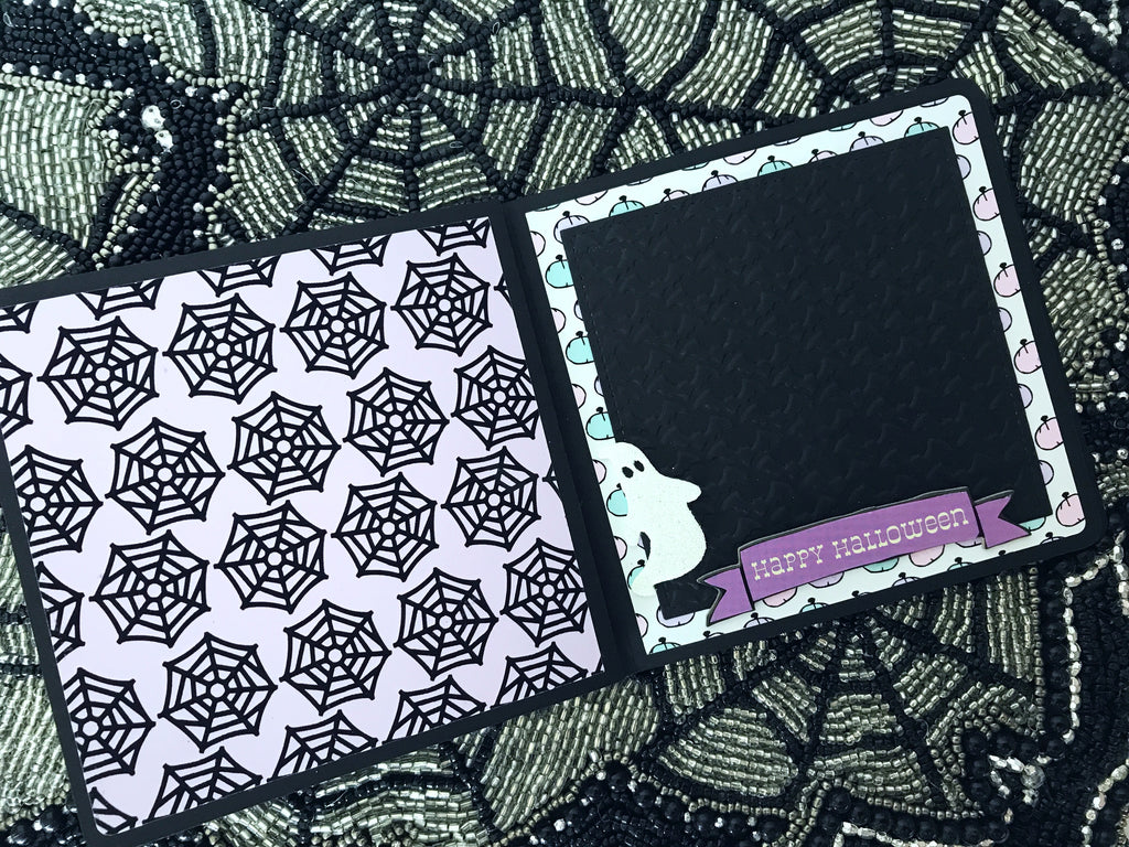 Spooky Pastel Mini Album | Serena Bee's Halloween Craft Series 2017. https://shop.serenabee.com