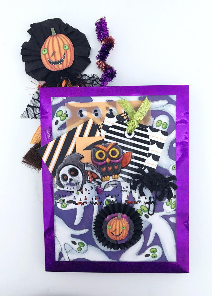 JUMBO Halloween Loaded Flip Bag | Halloween Happy Mail Series. shop.serenabee.com