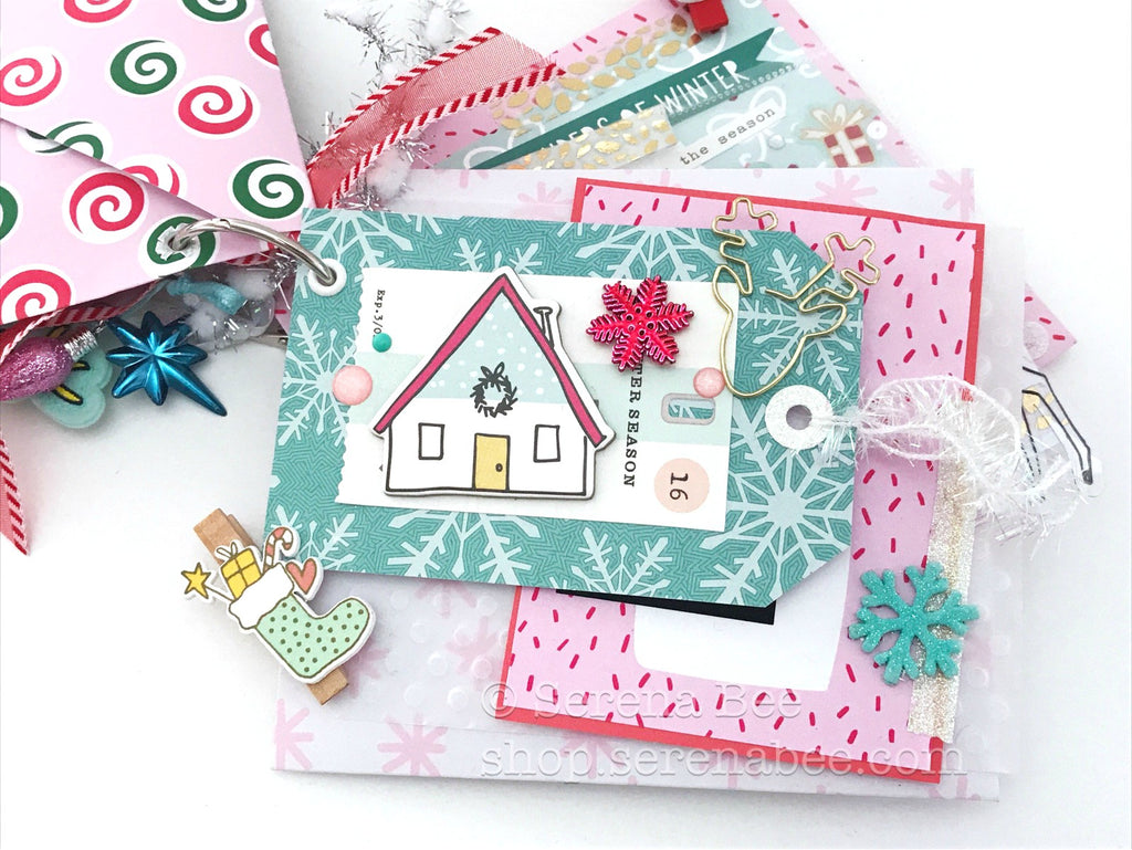 Snow Day Envelope Flip Mail. Snail mail ideas shop.serenabee.com