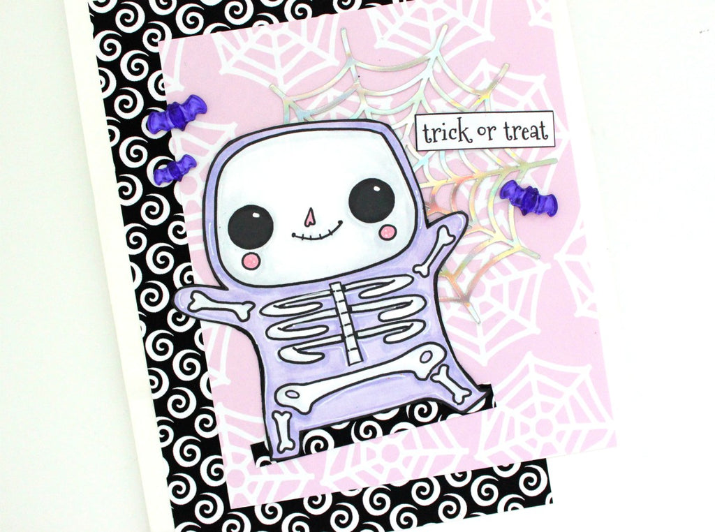 Altered Treat/Gift Bags | Halloween Happy Mail Series. https://shop.serenabee.com