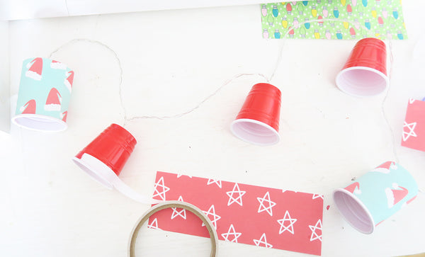 Altered Christmas Lights DIY by Taylor