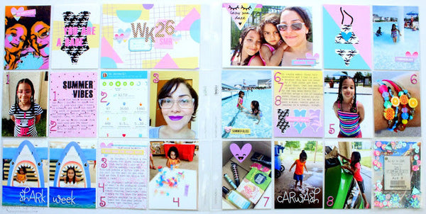 Summer Babe Project Life Spread | Guest Designer Jennie Garcia. shop.serenabee.com