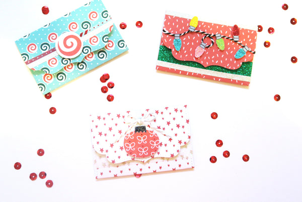 Holiday Gift Card Holders by Annie