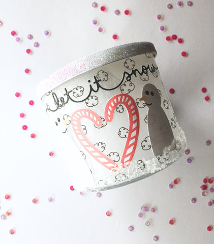 winter luminary DIY. Papercakes Design Team