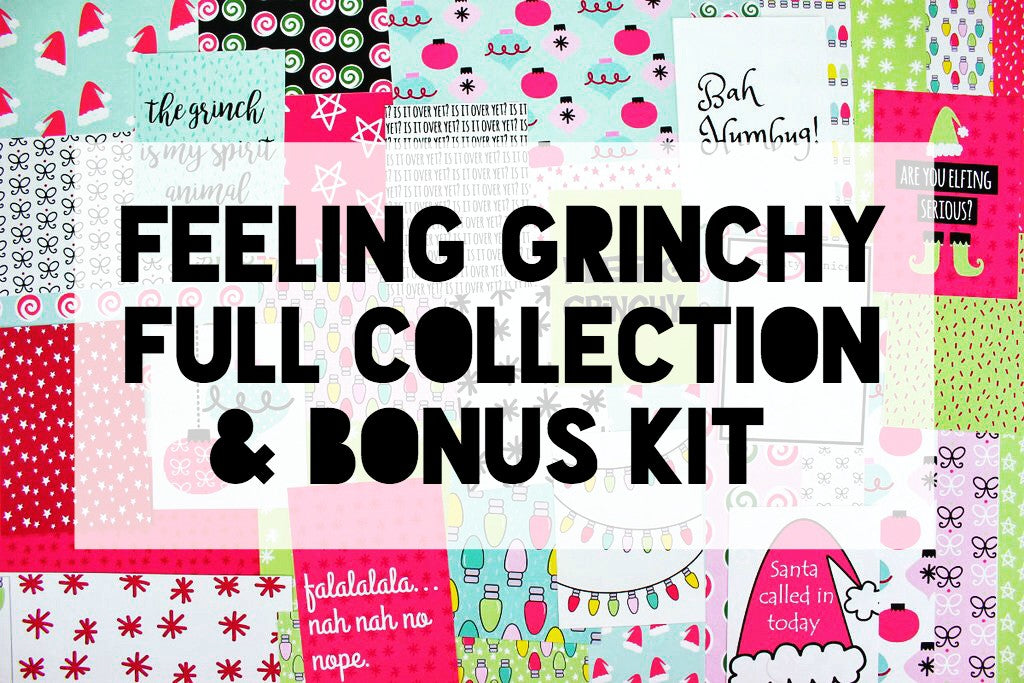 Feeling Grinchy Full Collection Bundle + Bonus
