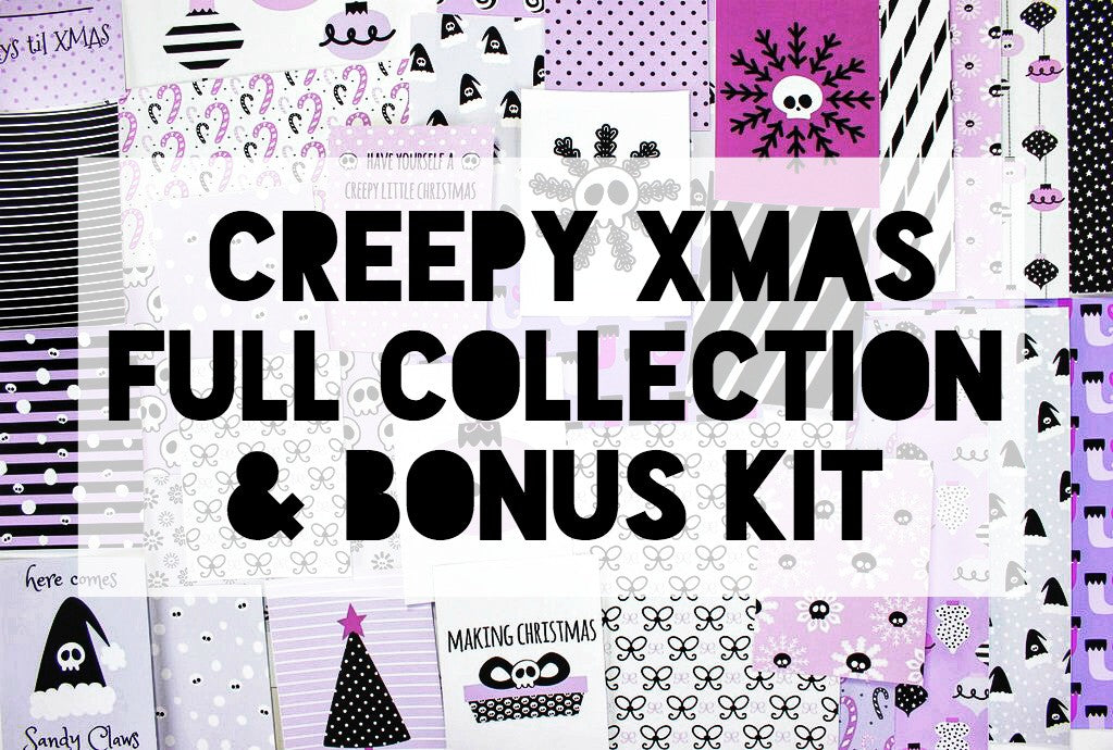 Creepy Xmas Full Collection Bundle + Bonus