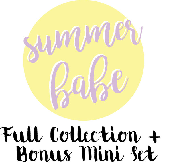 Summer Babe Full Collection + Bonus Mini Collection. shop.serenabee.com