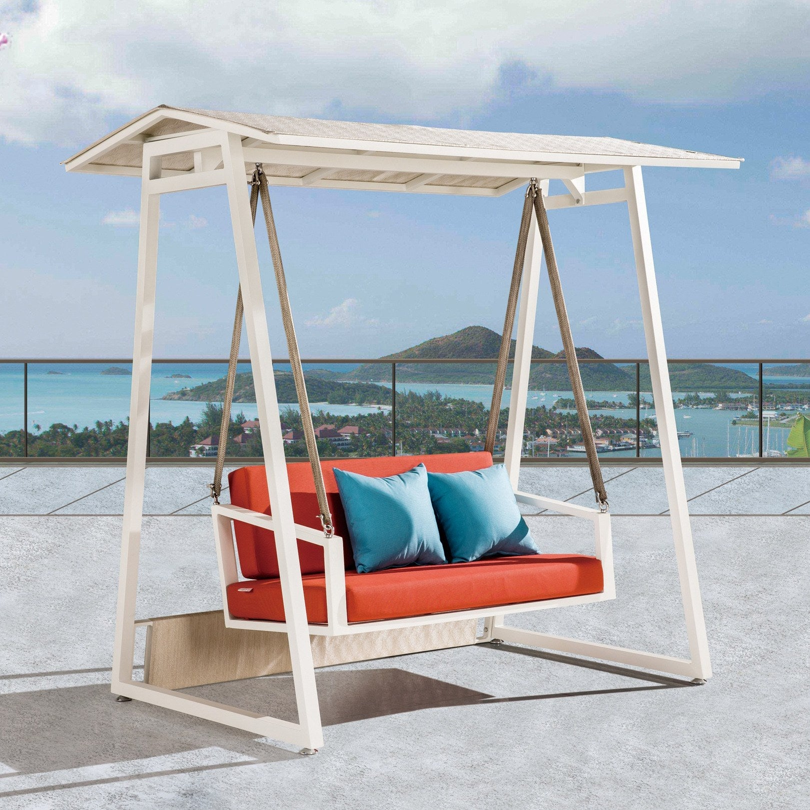 Contract Quality Outdoor Furniture Swing Sofa