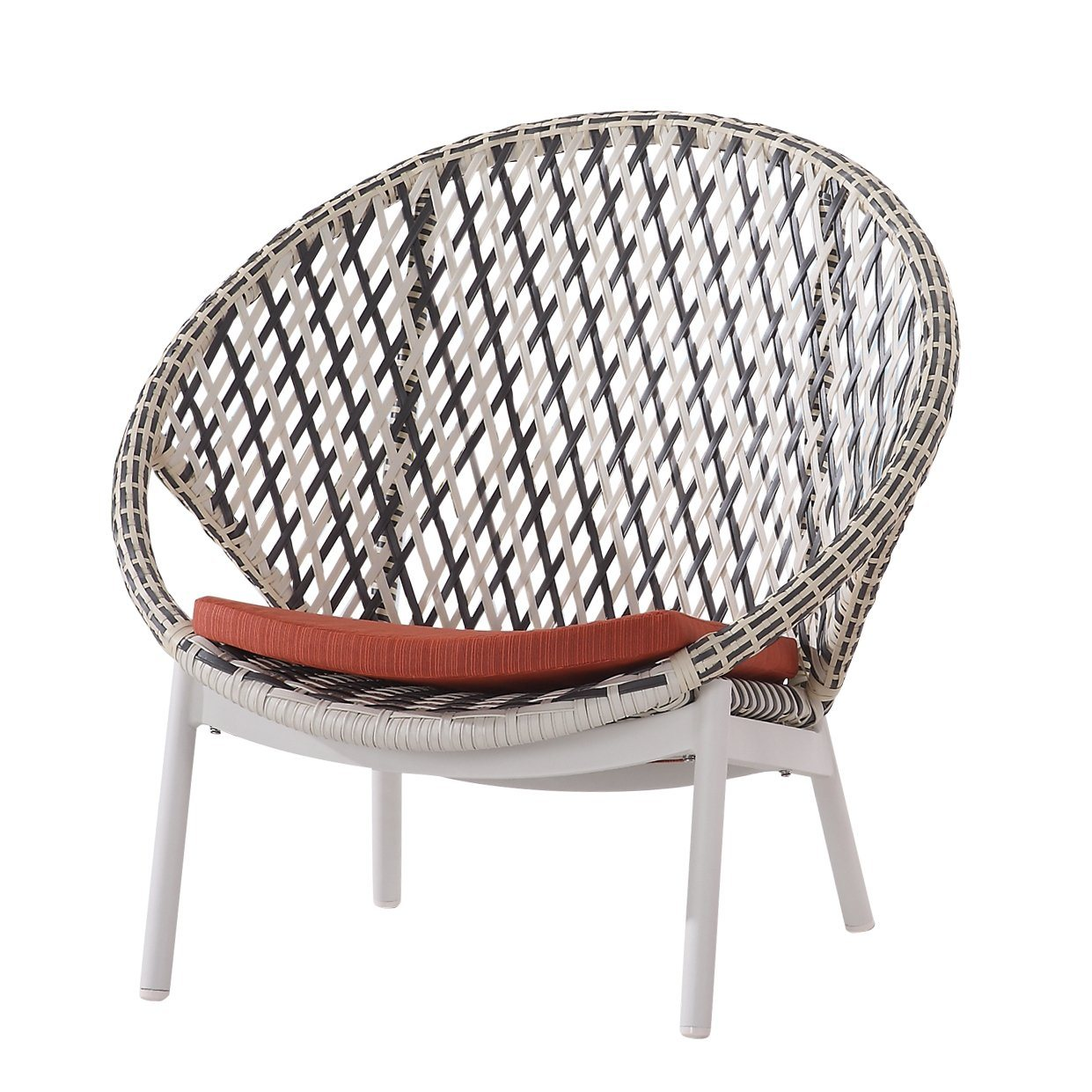 Contract Quality Outdoor Round Back Lounge Chair | TB ...
