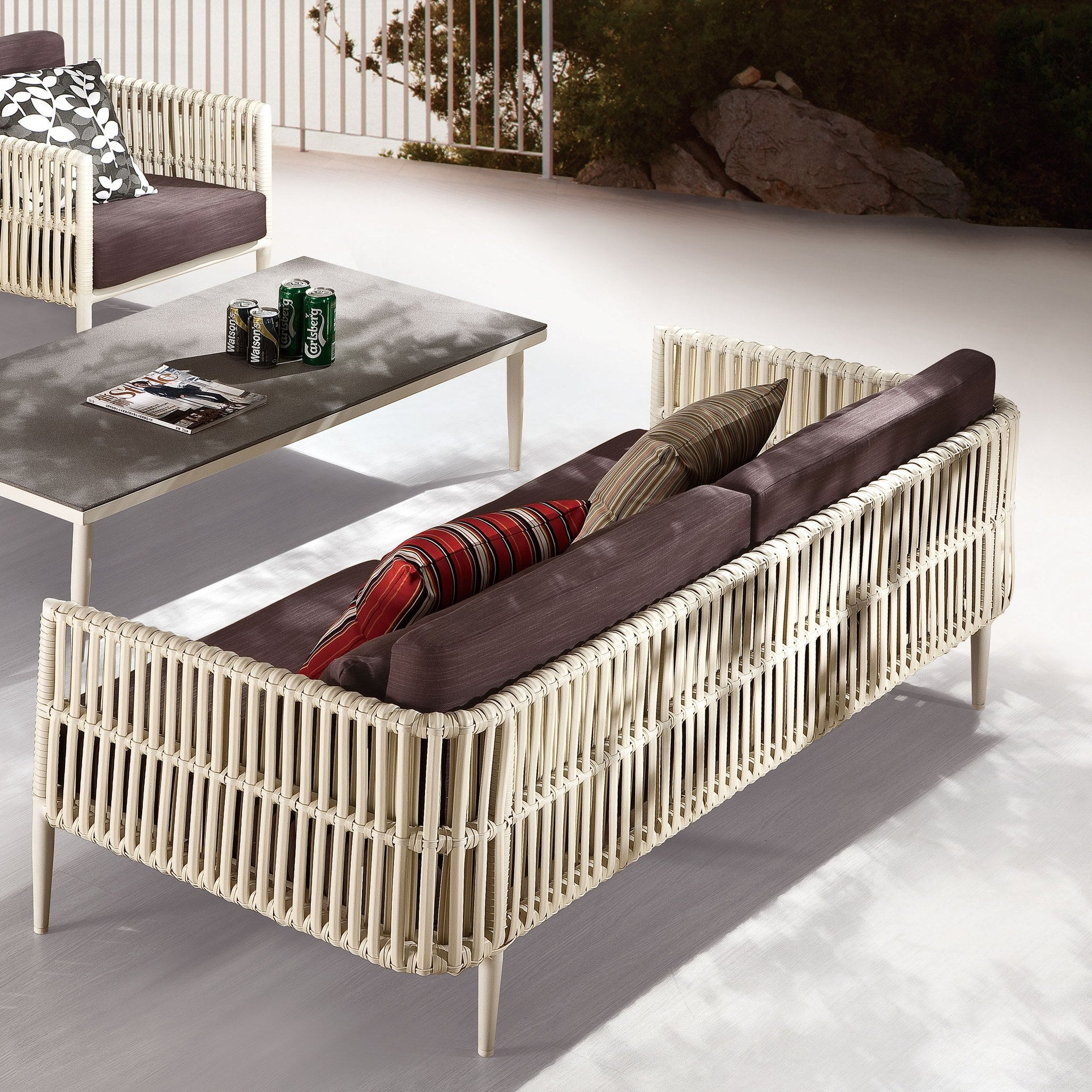 Contract Quality outdoor 3 seater sofa | TB Outdoor Design | Outdoor ...