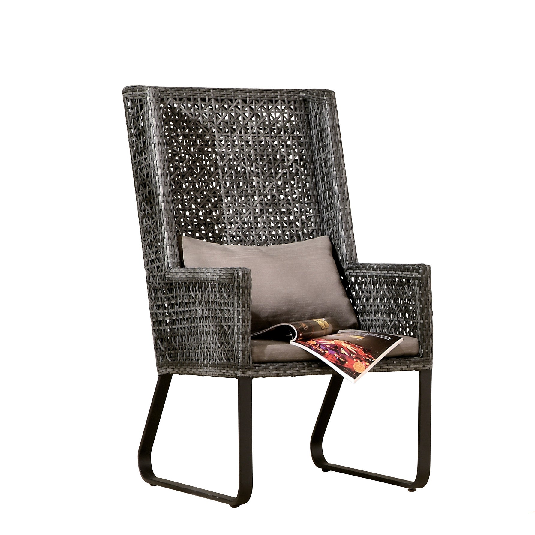 Contract Quality High Back Outdoor Lounge Chair Tb Outdoor Design