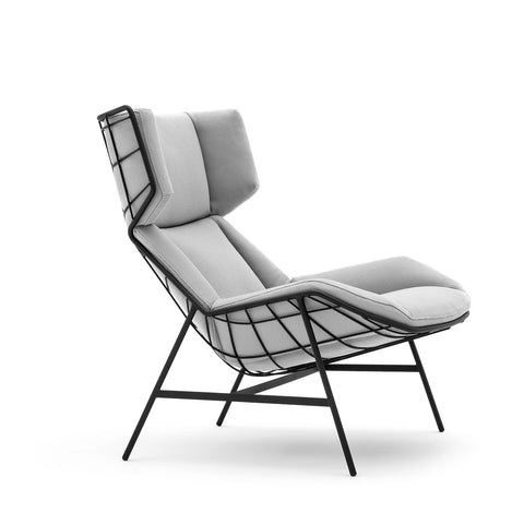 Contract Quality Outdoor Round Back Lounge Chair Tb