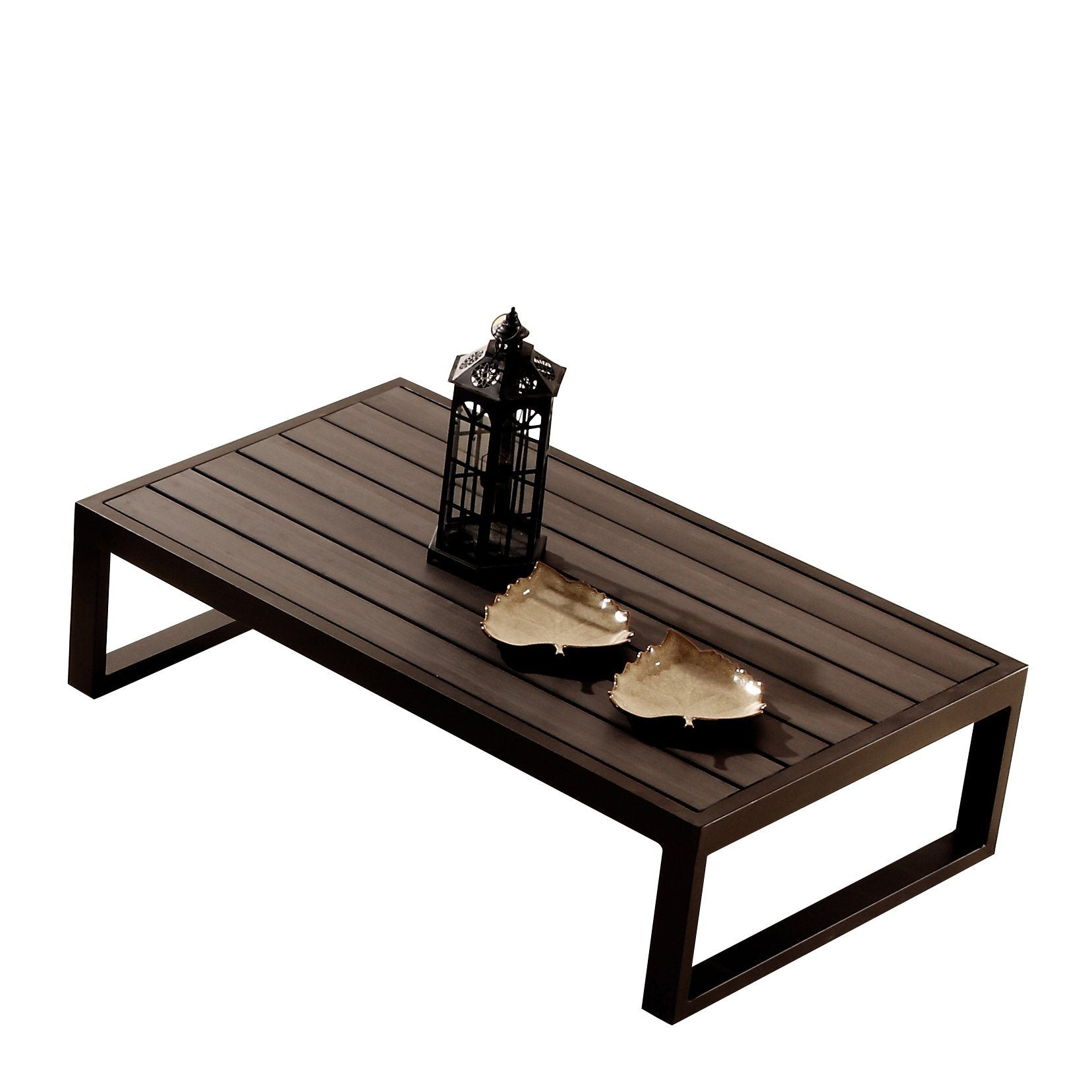 Contract Quality Outdoor Furniture Coffee Table Polywood - Polywood coffee table