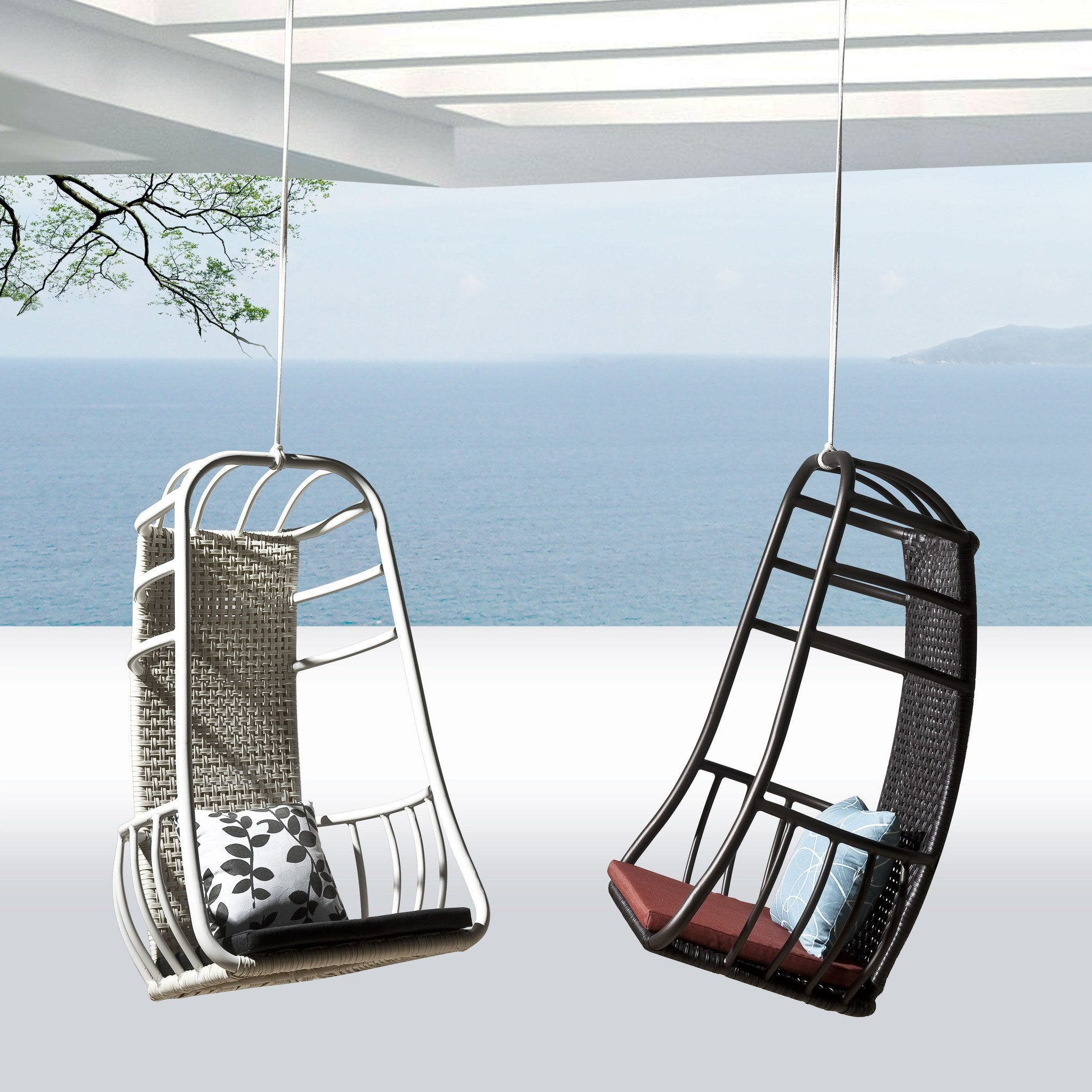 Agate Outdoor Swing Lounge Chair