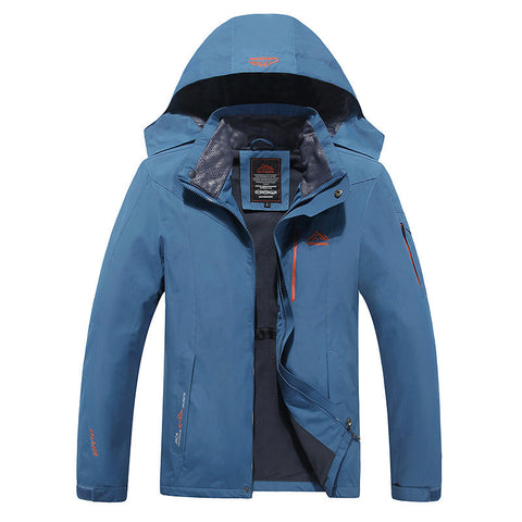 Man's  Waterproof Windproof Warm Coat Large Size Casual Jackets - 520outdoor