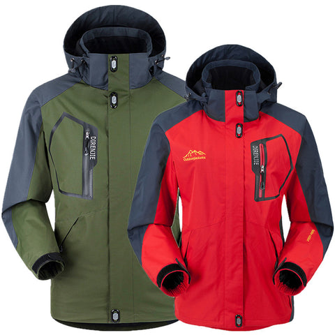 Spring Autumn Hiking Men Women Jacket Coats waterproof Windproof - 520outdoor
