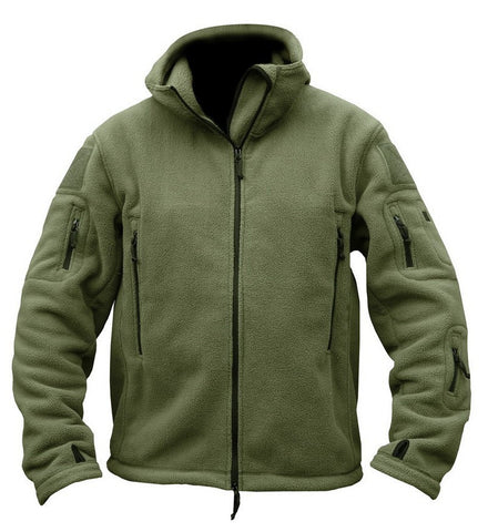 Winter Men's Warm Tactical Hunting Fleece Jacket - 520outdoor