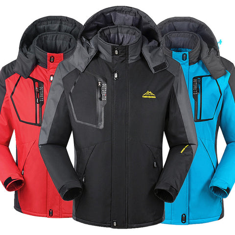 Winter Hiking Men Women jacket Coats Down Waterproof Clothes - 520outdoor