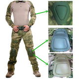 Army Military Tactical Combat Uniform Clothes With Knee Pads - 520outdoor
