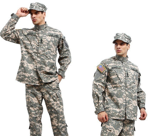 Army Military Camouflage Tactical Combat Uniform Clothes - 520outdoor
