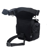 1000D Nylon Outdoor Leg Bag SWAT Hunting Waist Pack Ride Bags - 520outdoor