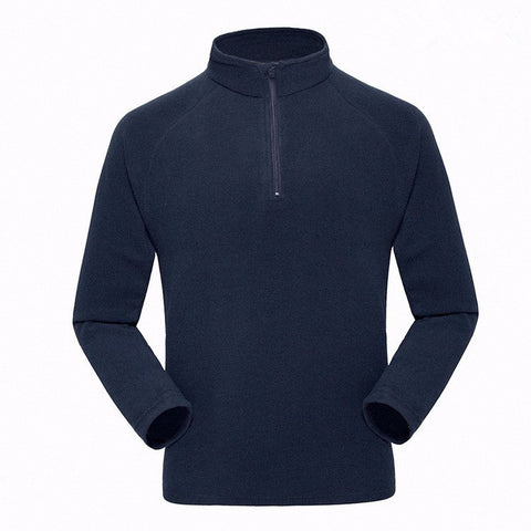 Outdoor men sports Windproof windstopper warm fleece jacket liner