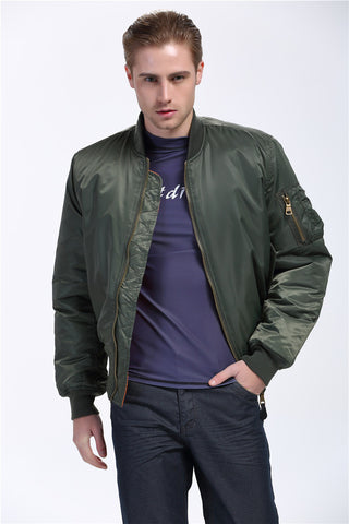 Ma1 Thick Winter Military motorcycle Flight Jacket Pilot Air Force Men Bomber Jacket